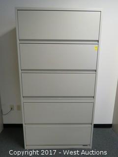 Steel Cabinet 6.5'X3'