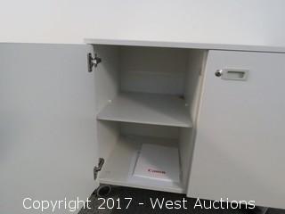 2-Door Rolling Cabinet