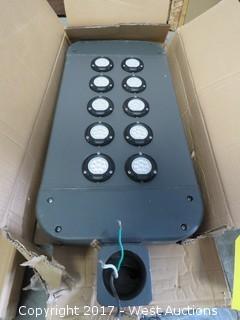 (1) DuraGuard CVL10EZ Commercial LED Light Fixture