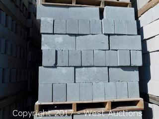1 Pallet Masonry Block - 6x8x16 STD Precison Grey Lightweight
