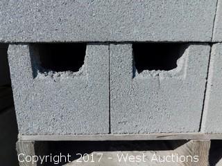 1 Pallet Masonry Block - 8x8x16 STD BB Precision Grey Lightweight