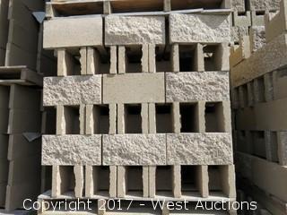 1 Pallet Masonry Block - 8x8x16 OEBB SF1S Tan Lightweight