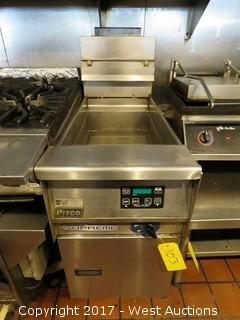 Pitco Solstice Supreme SSPG14 Deep Fryer