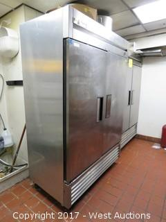 True T-49F Reach In Two Door Freezer