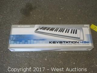 M-Audio Keystation 49e USB midi Controller Keyboard