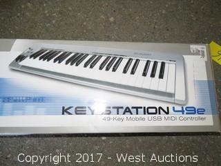M-Audio Keystation 49e USB midi Controller Keyboard