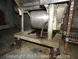 Hobart Mixer-Grinder on Wheels