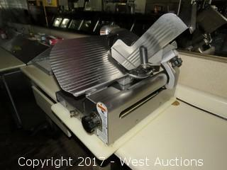 Globe Stainless Steel Deli Slicer