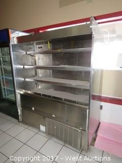 Barker Self-Serve Refrigerated Produce/Deli Cold Case
