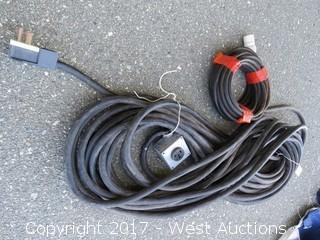 (2) Heavy Duty Power Cables