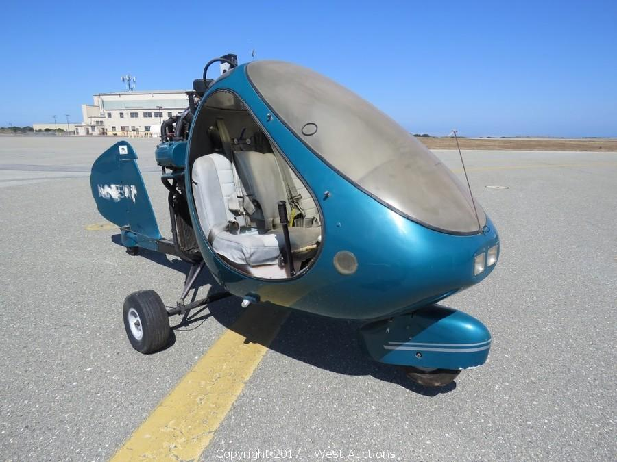 Auction of Seaplane, Hovercraft, Helicycle, Ultralite Base, Trailers and More