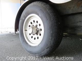2003 H & H 26' Enclosed Cargo Tandem Axle Trailer