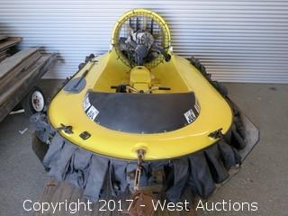Scat 2-Person Hovercraft with Trailer