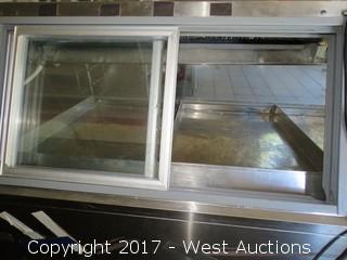 Refrigerated Deli / Supermarket Fresh Food Display Counter and more