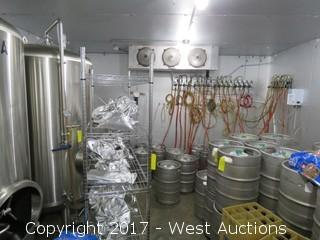 Master-Bilt Self Contained Walk In Freezer with 21 Beer Taps