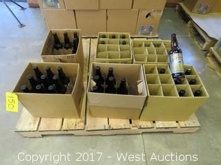 (33) 1-Pint Bottles Of Assorted Petaluma Hills Tripel J Ale
