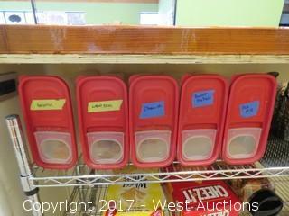 """Metro Rack 5' X 30"""" with Contents"""