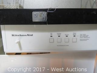 KitchenAid Ice Maker - Black and Stainless Steel