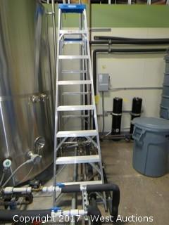 Werner 8' Aluminum Ladder