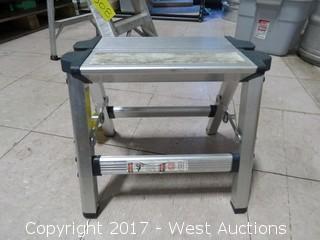 "11.5"" Aluminum Stepladder"