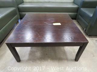 Wood Table 3' x 3'