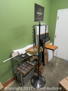 Metro Rack, Signage, Retail Display