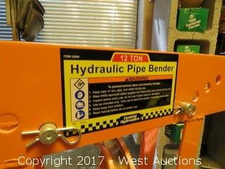 12 Ton Hydraulic Pipe Bender With Various Heads