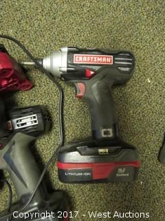 Craftsman 19 Volt Power Drill Set