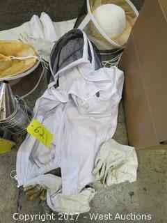 Bee Keeping Suit With Smoker And Parts