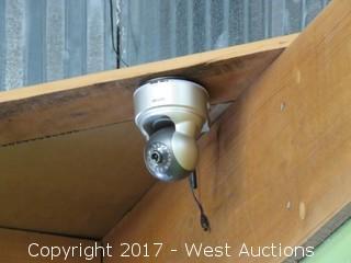 (2) Security Cameras(No Receiver)