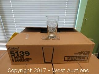 (1) Box of (24) Pint Glasses