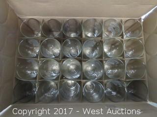 (1) Box of (24) Pint Glasses