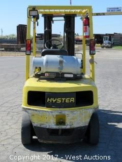 Hyster H50XM 4,400lbs Propane Forkllift