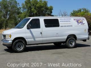 1995 Ford Power Stroke Turbo Diesel Passenger/Cargo Van
