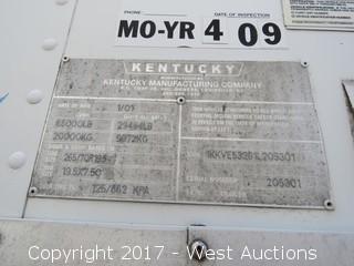 2001 Kentucky 53' Fifth Wheel Trailer