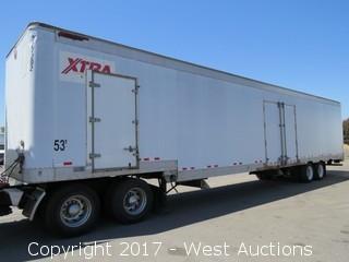 2002 Great Dane 7411TD5A 53' Fifth Wheel Cargo Trailer