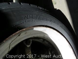 1989 Utility 50' Tarp Trailer