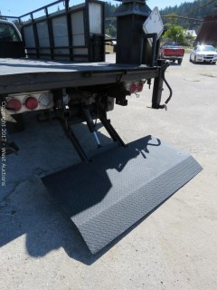 2003 Ford F-550 Power Stroke Turbo Diesel 4X4 Utility Crane Truck with Lift Gate