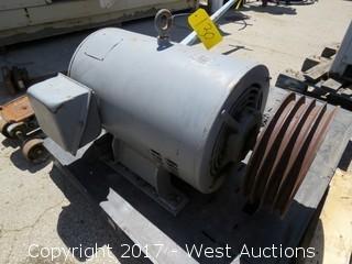 Large 3 Phase Motor