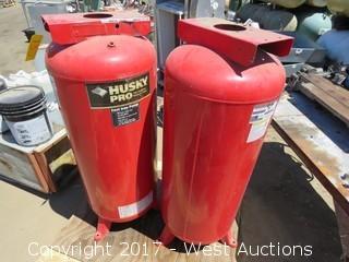 Pallet; (2) Husky Pro 60 Gal. Cast Iron Pumps