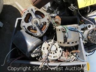 Pallet; Various Motors and Parts