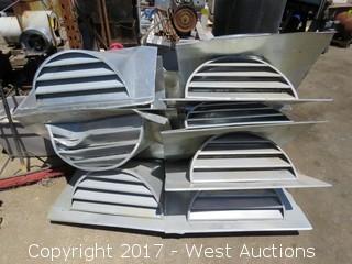Pallet; Approximate. (11) Aluminum Vents