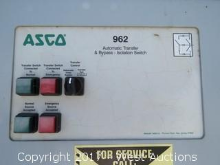 Asco Automatic Transfer & Bypass - Isolation Switch
