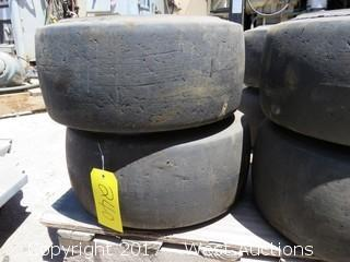(10) 18X8X12 1/8 Forklift Tires
