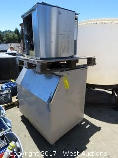 Industrial Refrigerator Unit and Ice Maker