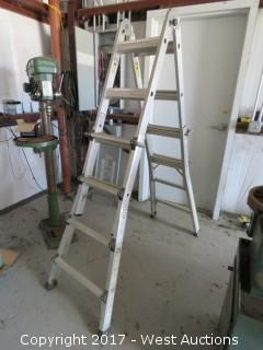 Warner 20-217A-TIA 14' Multi-Ladder