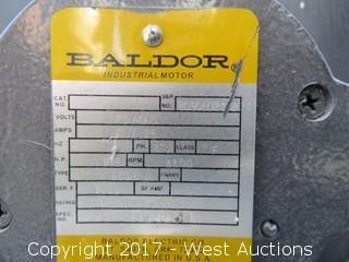 Baldor 3 Phase 10 HP Motor with Fan