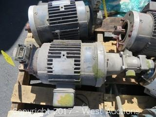 Marathon Electric 3 HP Motor
