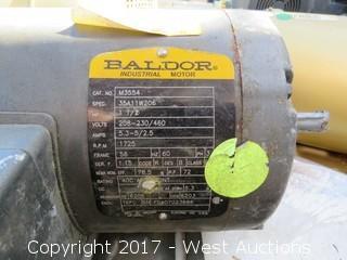 Baldor 1 HP 3 Phase Motor