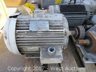 Lincoln 10HP 3 Phase Motor